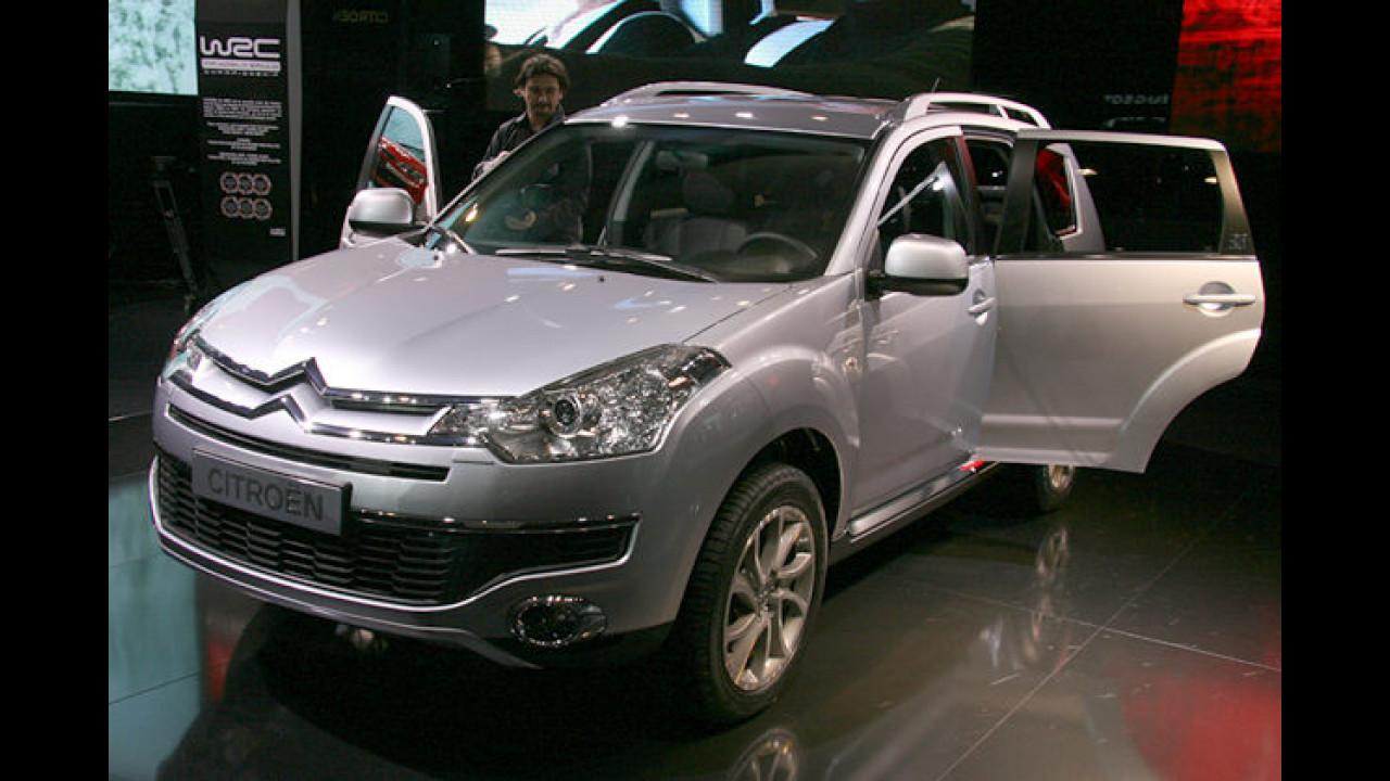 Der Citroën C-Crosser wurde gemeinsam mit dem Peugeot-Pendant 4007 entwickelt