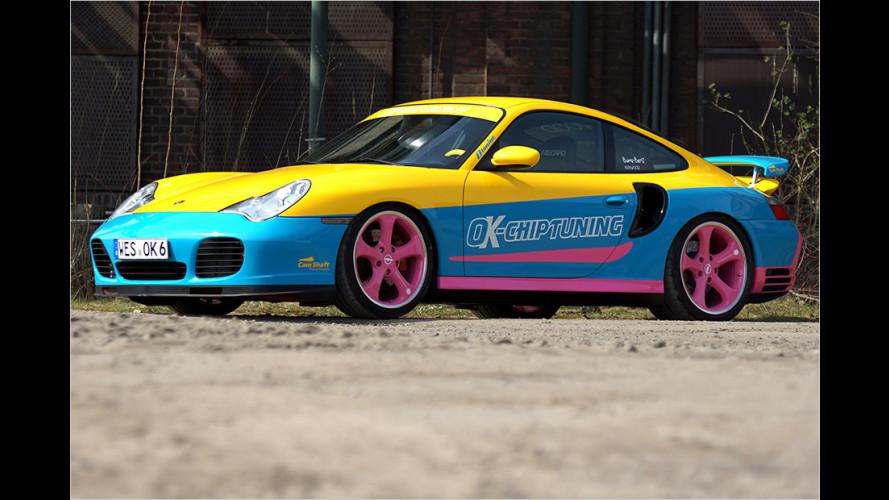 Porsche als Möchtegern-Manta