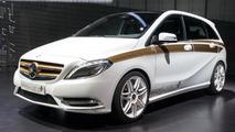 Mercedes-Benz Concept B-Class E-CELL PLUS live in Frankfurt 13.09.2011