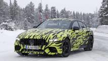 Mercedes-AMG Four-Door GT Coupe spy photo