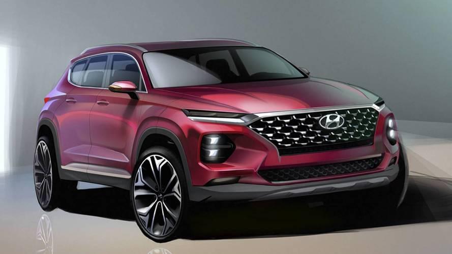 Hyundai en dévoile encore un peu sur son nouveau Santa Fe