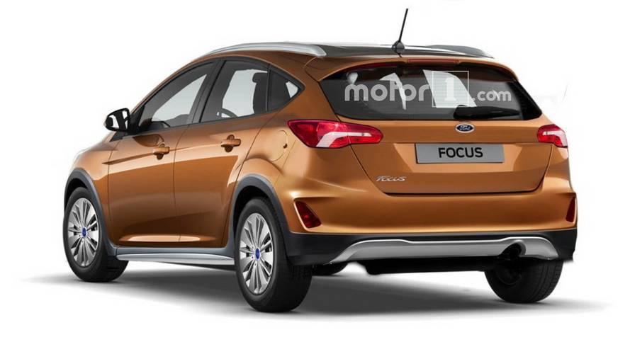 Projeção - Como será o aventureiro Ford Focus Active