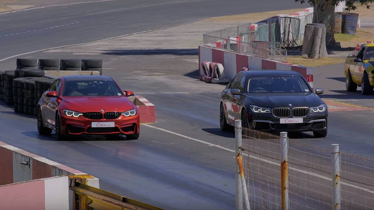 BMW M760Li xDrive vs. M4 Competition Package