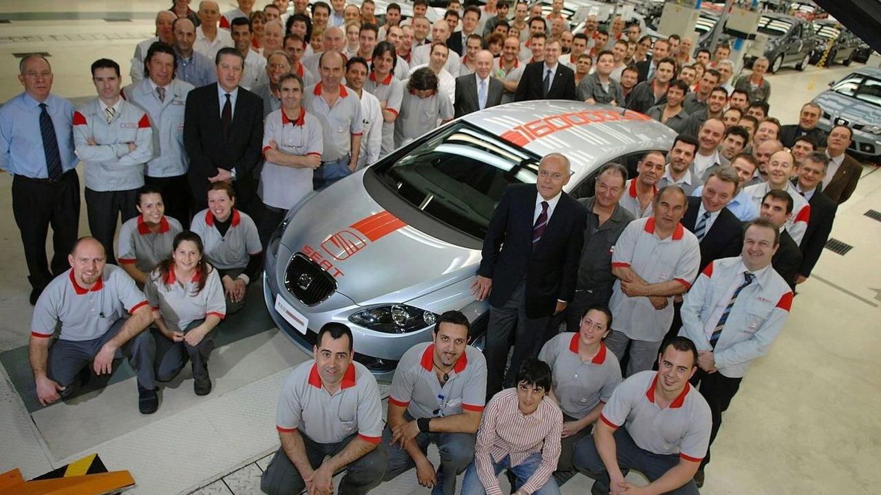 Seat's 16 Millionth car, a Seat Leon Ecomotive