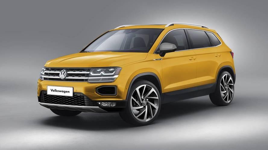 Volkswagen'in yeni ufak SUV'si böyle görünebilir