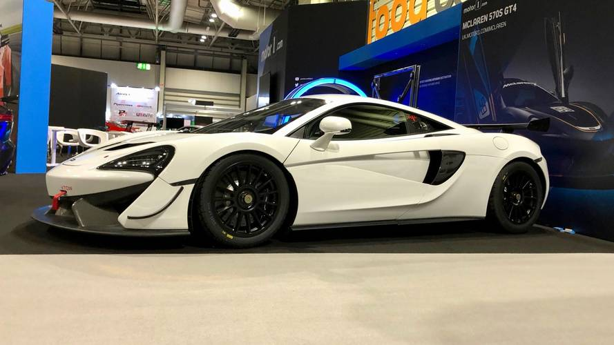 Up Close And Personal With The McLaren 570S GT4