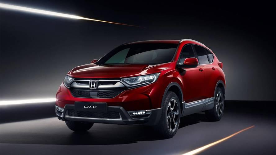 Honda, yeni CR-V'nin Avrupa tanıtımını yaptı