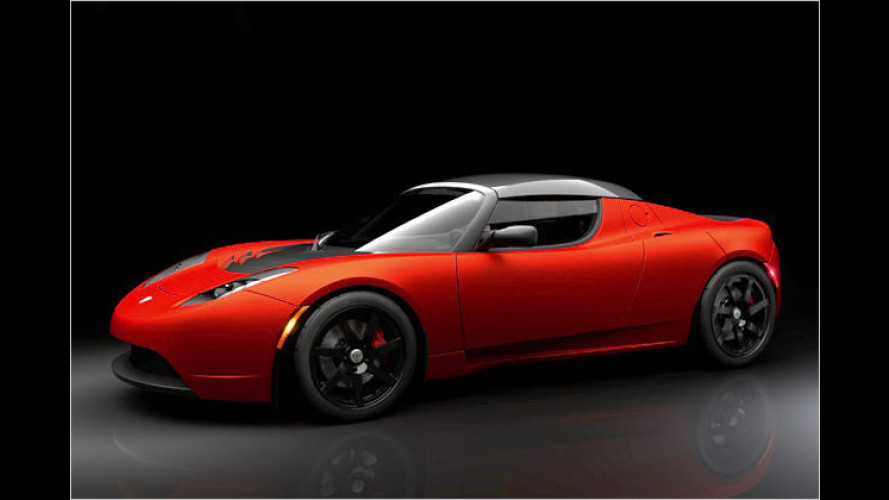 Unter Hochspannung: Tesla Motors bringt Roadster Sport