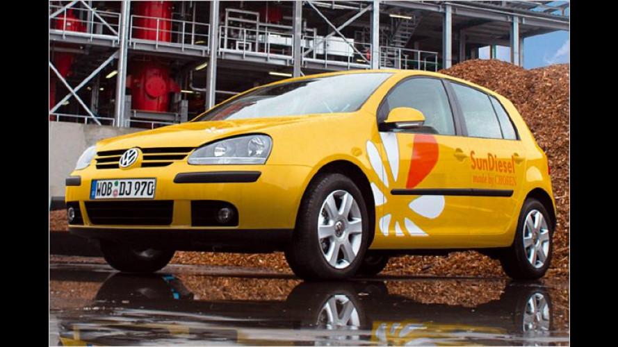 Volkswagen beteiligt sich bei Biokraftstoffunternehmen