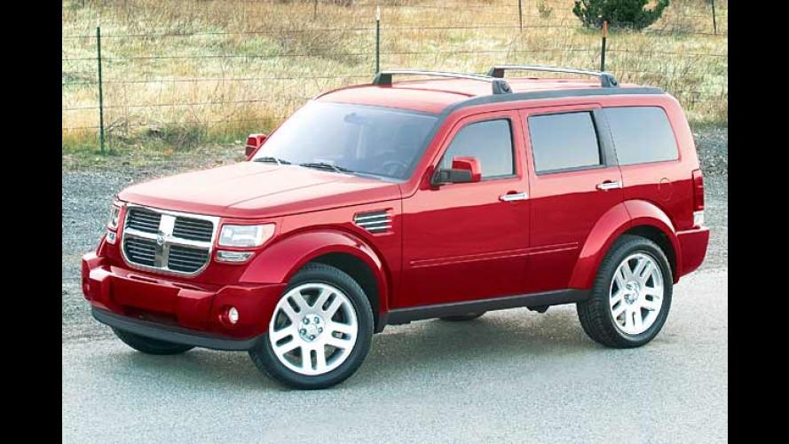 Dodge Nitro: Explosives Mittelklasse-SUV auf der IAA
