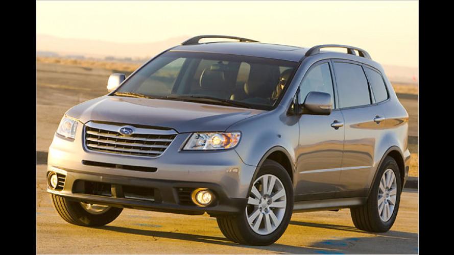 Frisches Face: Subaru gibt dem Tribeca ein neues Gesicht
