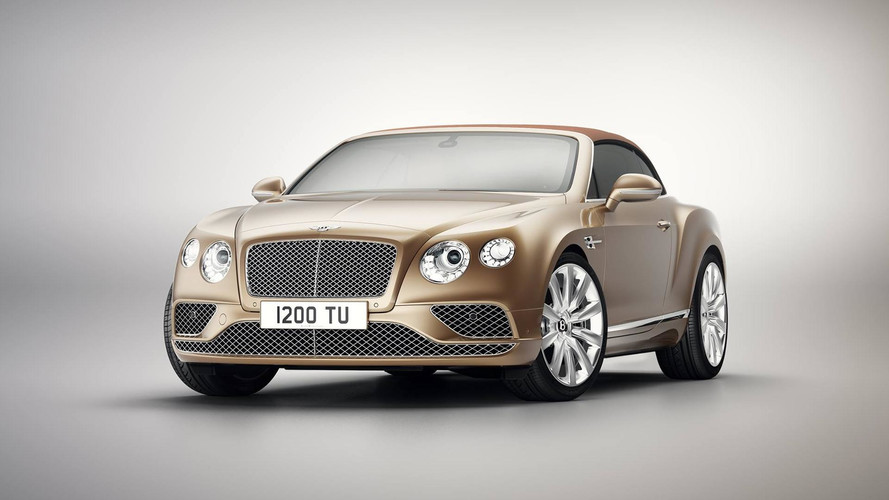 Bentley Continental GT Timeless Series Is An Homage To Itself