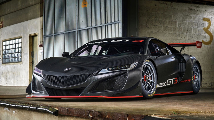 465'000 €, c'est le prix de la Honda NSX GT3 !