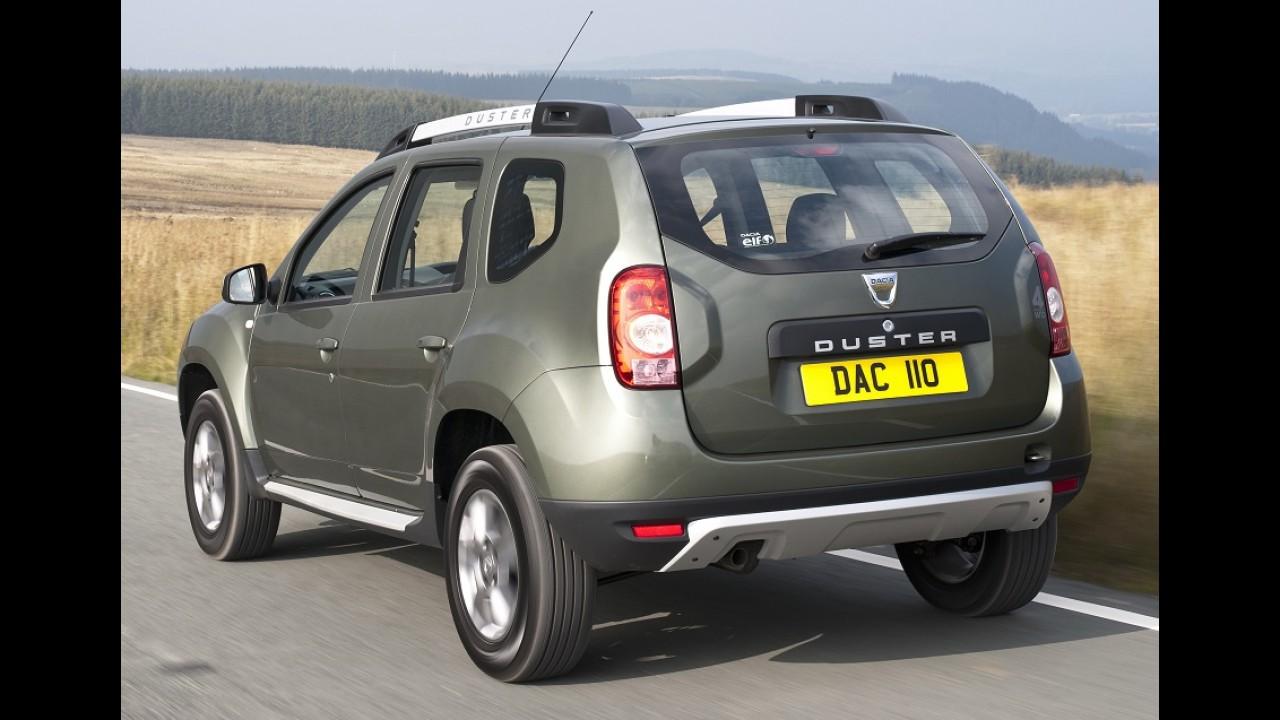 Duster no Reino Unido: clientes continuam reclamando de casos de corrosão