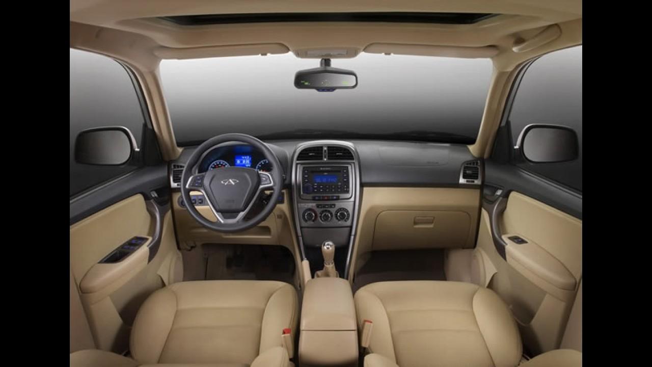 Chery Tiggo 2011 - Novo visual, novo motor e melhor acabamento interno