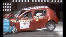 Latin NCAP divulga resultados de testes de colisão - Sandero e J3 são reprovados; veja a tabela e os vídeos dos testes