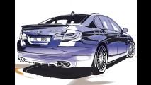 Alpina BMW B5 Bi-Turbo 2011 tem motor V8 de 507 cv - Veja fotos