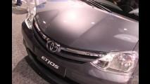 Novo Toyota Etios: Conhecemos ao vivo o novo popular japonês - Veja galeria de fotos
