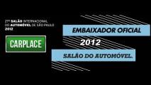 CARPLACE é Embaixador Oficial do Salão do Automóvel 2012