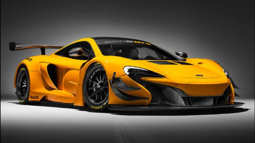 McLaren 650S GT3, pronta per la pista