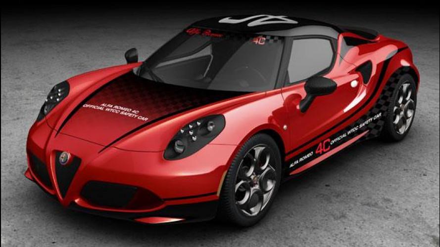 Alfa Romeo 4C, la nuova safety car del WTCC