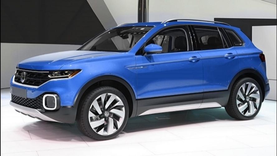 Volkswagen T-Roc, nuove info sul SUV compatto