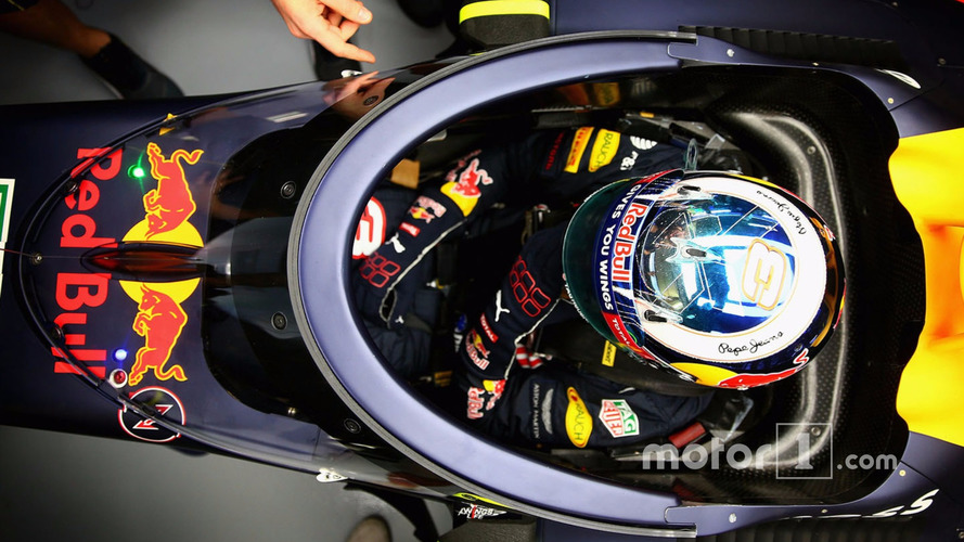 F1 Drivers Shown 'The Shield' Head Protection Concept