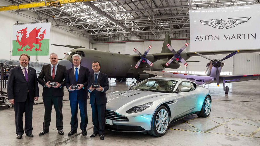 Aston Martin Begins Converting Unused Hangars Into New Factory