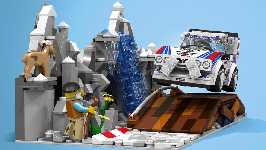 Lendas do rali, Peugeot 205 e Lancia Delta podem virar Lego