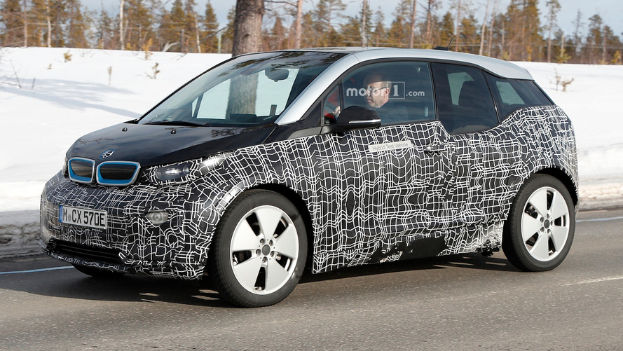 BMW i3 facelift spied again – but still doesn't show much