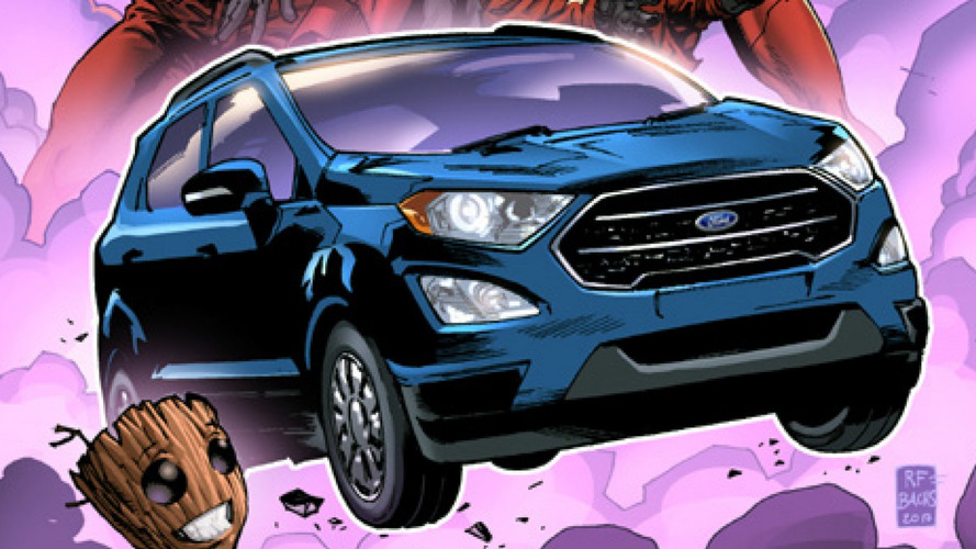 Ford EcoSport 2017 vai virar personagem de quadrinhos da Marvel