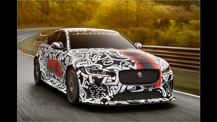 Jaguar XE SV Project 8: Krasse Katze