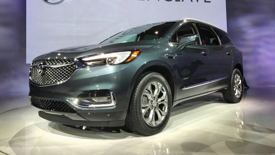 2018 Buick Enclave Avenir Arrives Looking  Luxurious in New York