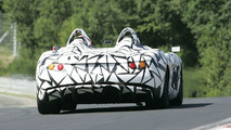 Mercedes-McLaren SLR Speedster Spy Video
