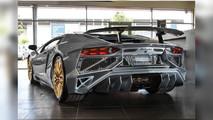 Final Lamborghini Aventador SuperVeloce with Porsche 918 Spyder paint