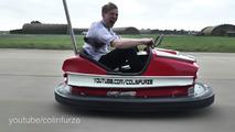 Record de vitesse auto-tamponneuse