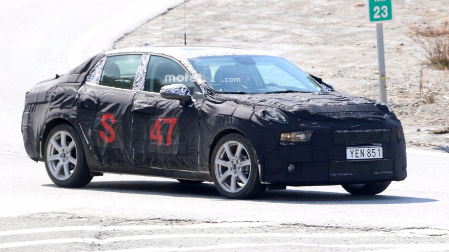 2018 Lynk & Co 02 Sedan Makes Spy Photo Debut