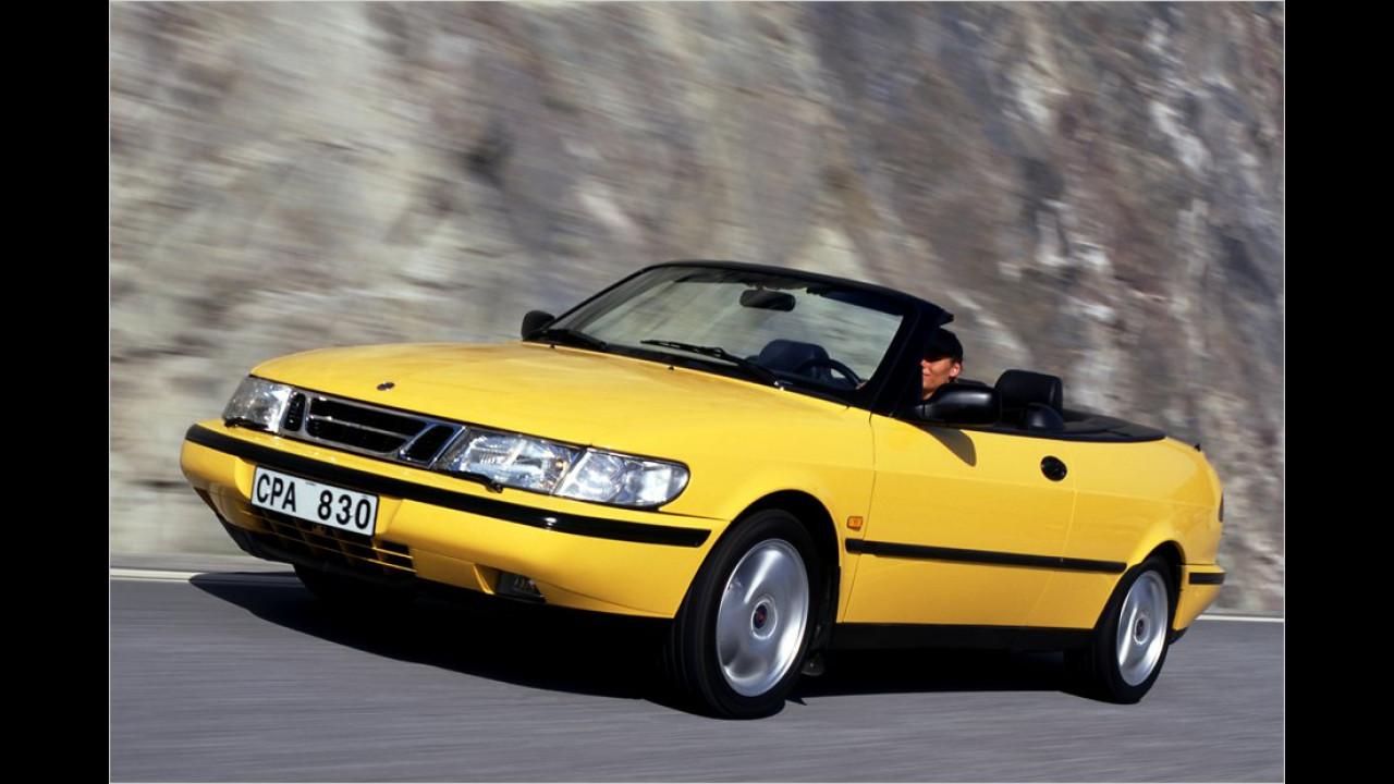 Als weiterentwickelter 9-3 lief der 900 II bis zum Jahr 2002, auch als Cabrio