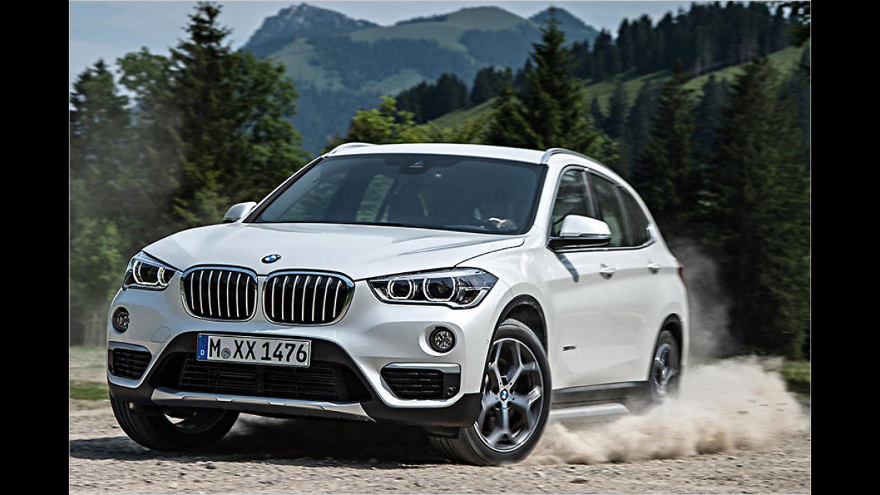 Kleine SUVs: BMW X1