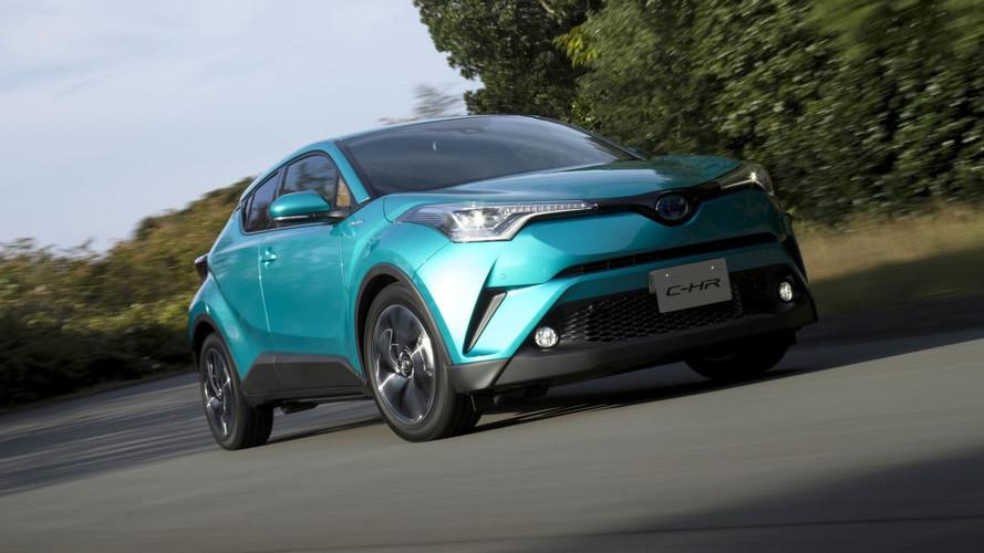Toyota C-HR bomba no Japão e já o SUV mais vendido de 2017