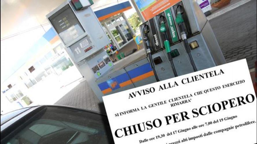 Sciopero benzinai: orari, date e tutte le info