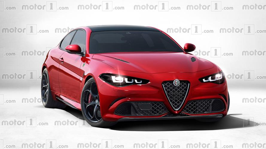 Alfa Romeo GTV Imagined As A Stunning 600-HP Giulia Coupe