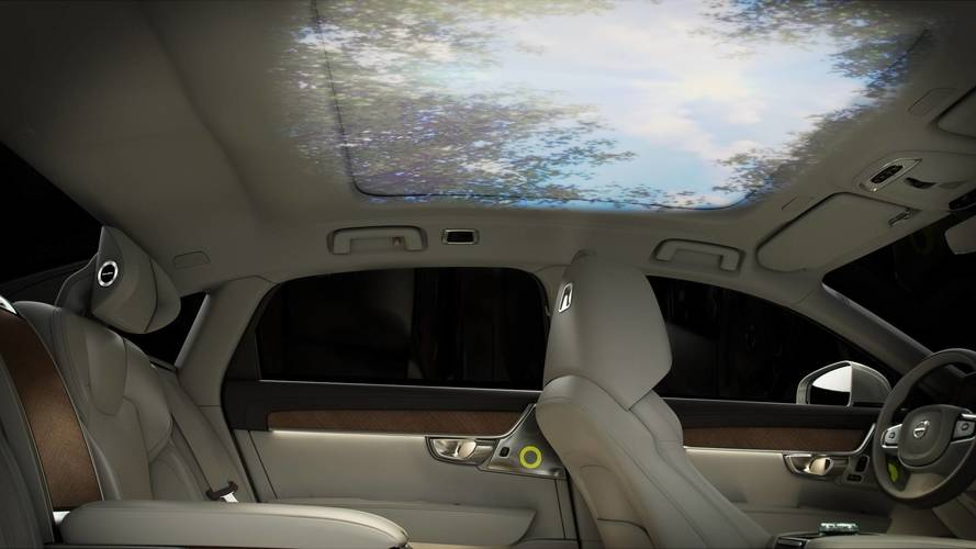 Érzéki összeköttetésre hajt a Volvo S90 Ambience Concept