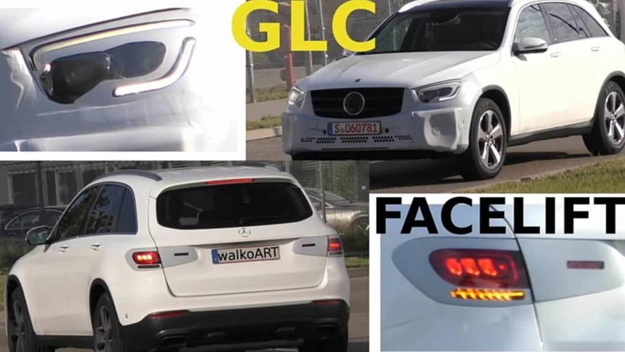 2019 Mercedes GLC casus görüntüleri