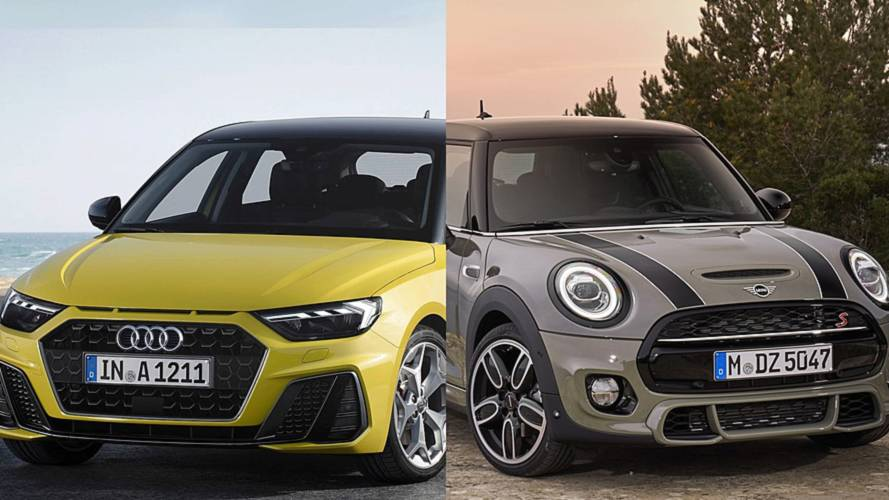 Nuova Audi A1 vs MINI, piccole premium contro