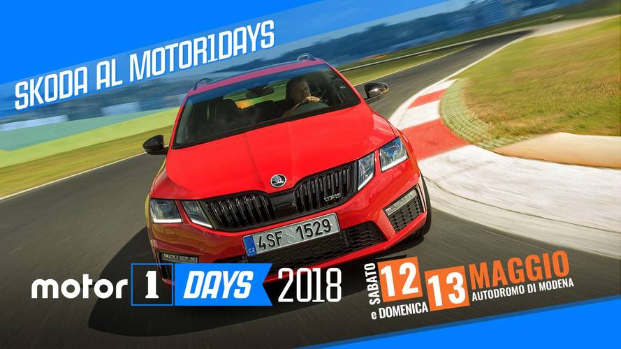 Skoda, al Motor1Days porta la passione per i rally