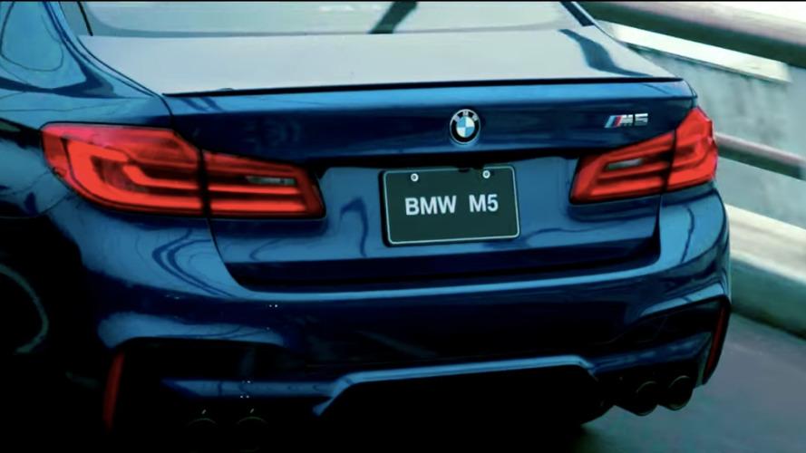 BMW, yeni M5 için bir reklam daha yayınladı