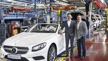 Mercedes S-Class Cabriolet production in Sindelfingen