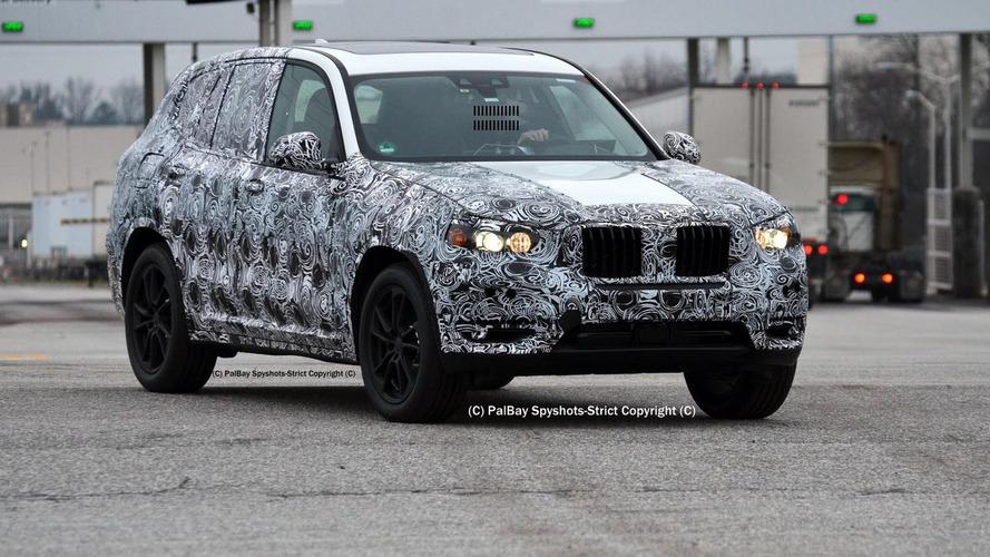 2017 BMW X3 M40i spied in United States