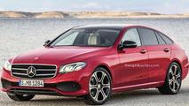 Mercedes E Class liftback render